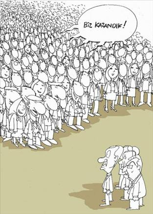 Yerel seçim karikatürleri