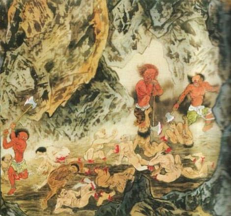 Budistlerin cehennemi