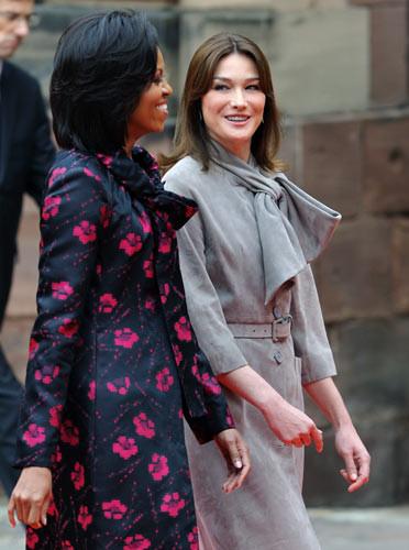 First Ladylerin şıklık yarışı