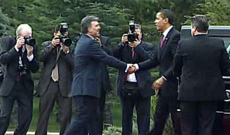 Obamayı korkutan top