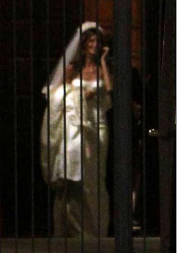 Giselein düğünü olaylı geçti