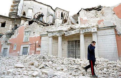 Deprem işte böyle yıktı