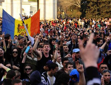 Moldova fena karıştı