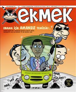 Obama mizahçılara konu oldu