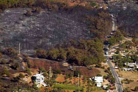 Yangından sonra Bodrum