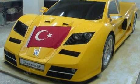 Türkiyenin süper otomobili Şamil!