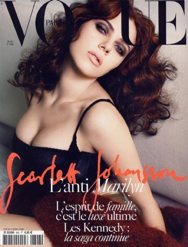 Scarlett Johansson kapak oldu