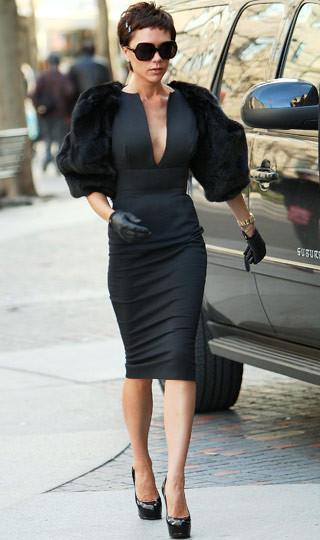 Kurtarıcı siyah elbiseler