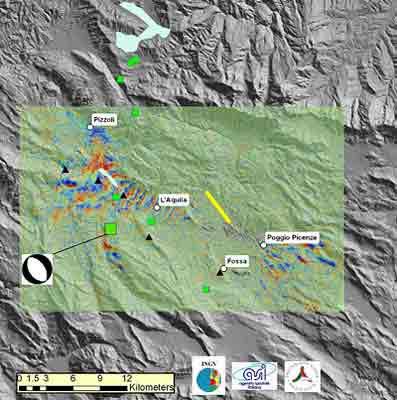 Deprem anında uzaydan görüntü