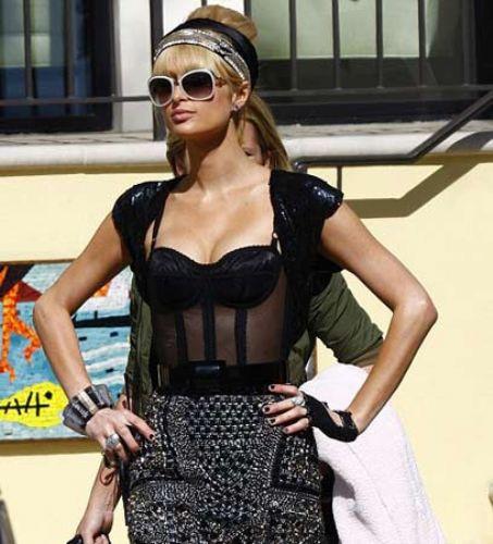 Paris Hilton fena yakalandı