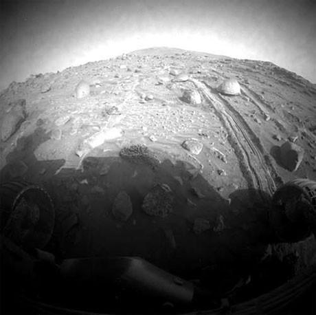 Marstan şaşırtıcı kareler