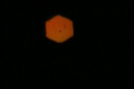 Kemerde UFO görüldü
