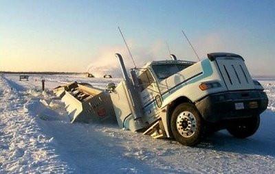 İlginç kamyon kazaları