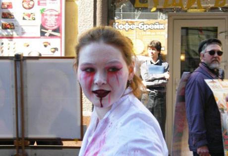 Moskovayı zombiler bastı!