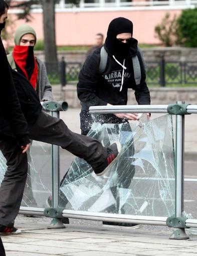 Ankarada 1 Mayıs arbedesi
