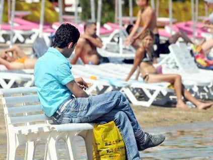 Turistler Bodruma akın etti