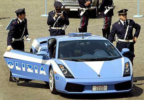 En hızlı polis arabaları