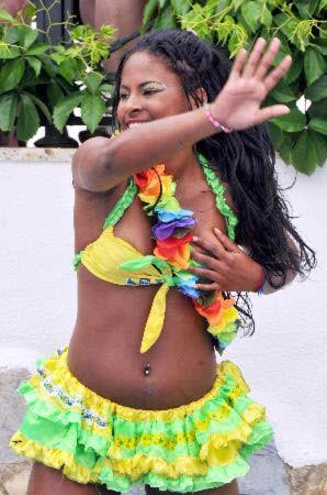 Brezilyalı dansçının zor anları