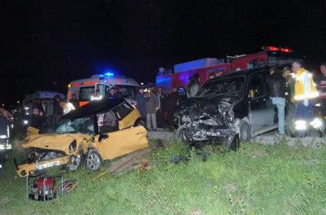 Konser dönüşü kaza