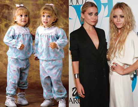Ünlü ikizler moda ikonu oldu
