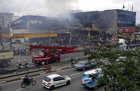 Brezilyada facia gibi uçak kazası: 200 ölü !