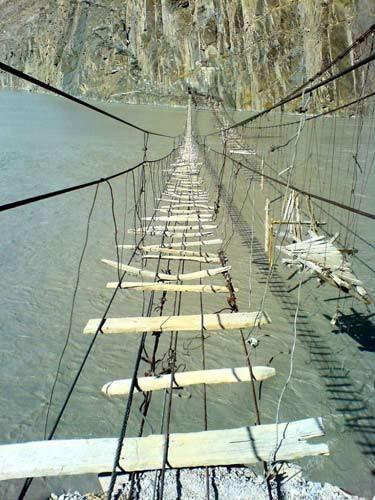 Dünyanın en tehlikeli köprüleri