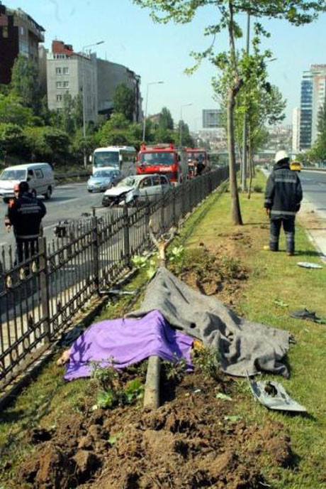 Şişlide trafik kazası