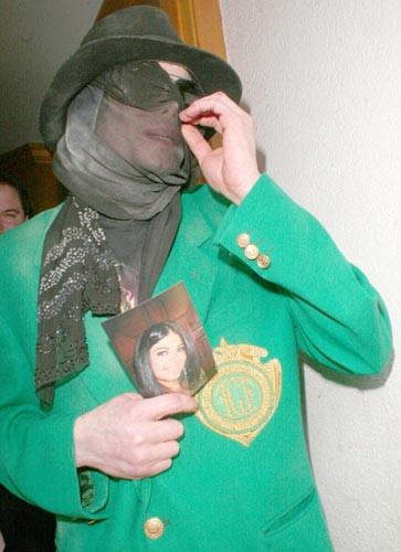 Maskesiz Michael Jackson !