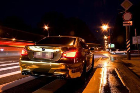 Altın BMW !