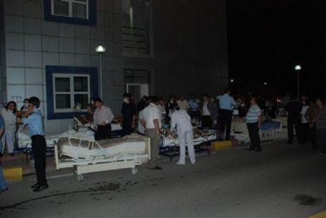 Bursada hastane yangını