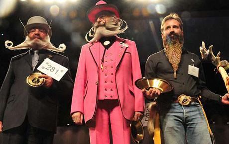 Alaskada bıyık-sakal şampiyonası