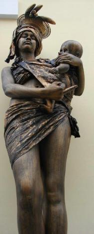 Canlı heykeller !