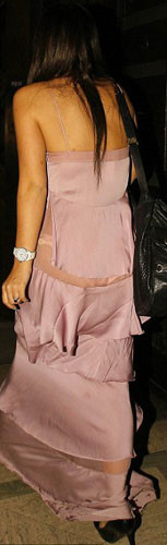Lily Allenin paramparça elbisesi