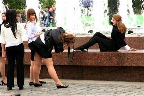Ruz kızlar fena dağıttı