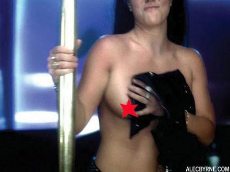 Britney Spearstan stiriptiz şov