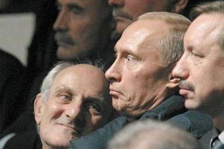 Liderlerin komik anları
