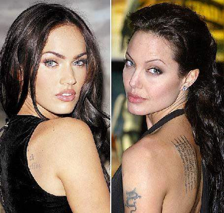 Angelina Jolie - Megan Fox