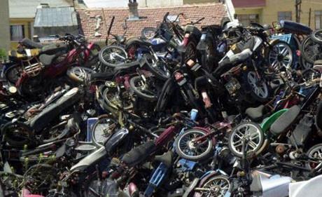 7 bin motorsiklet trafikten men edildi