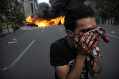 İran yanıyor !