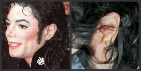 Kulağının şekli değişmiş !