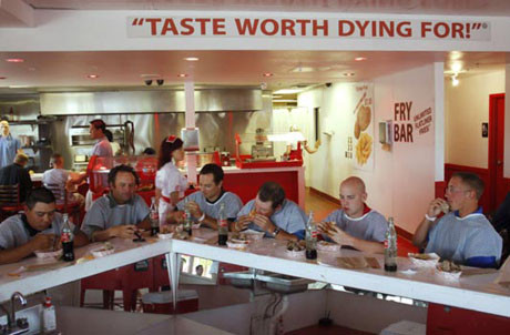Kalp krizi geçirten lokanta !
