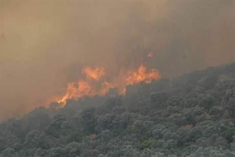 Foçadaki yangın büyüyor