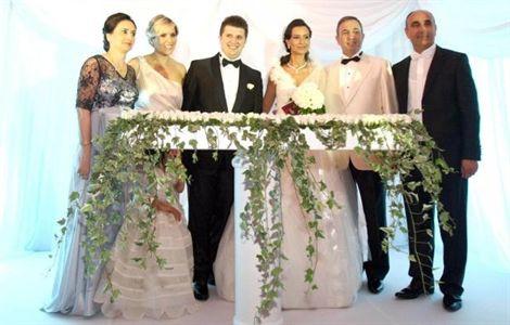 TAV Başkanı oğlunu evlendirdi
