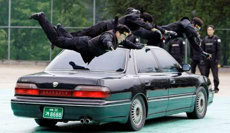 Polisin zorlu eğitimi