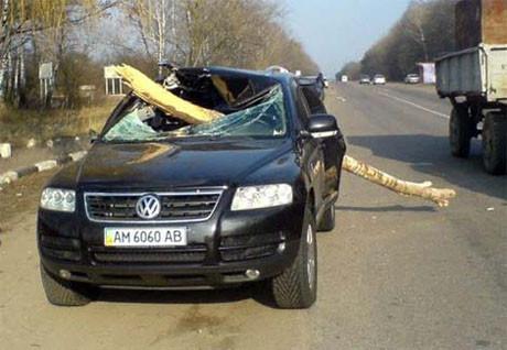 En talihsiz trafik kazaları