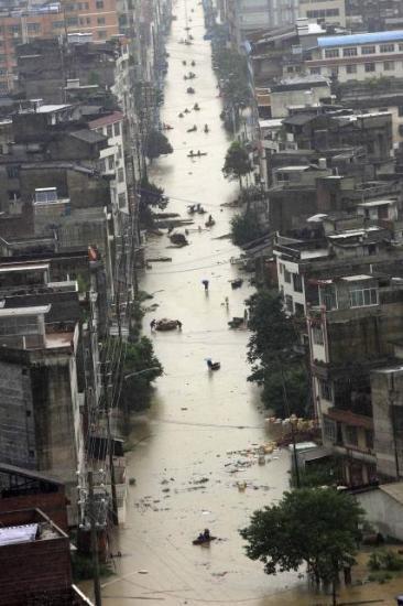 Yüzen şehir Liuju