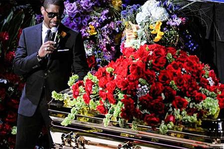 Michael Jacksonın cenaze töreni