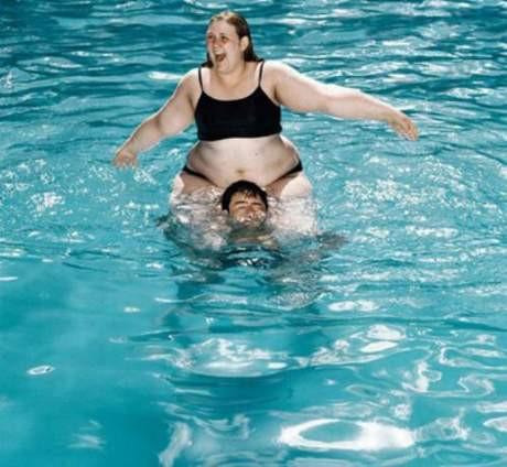 Havuzlardan komik görüntüler