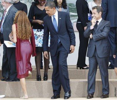 Obamanın bakışları meşhur etti