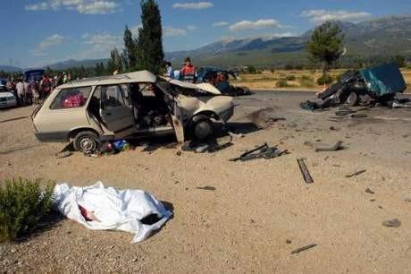 Muğlada trafik kazası